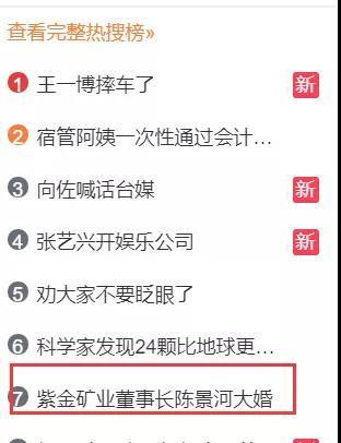 刷屏了!中国最大金矿63岁董事长娶38岁妻子 新娘:相信爱情