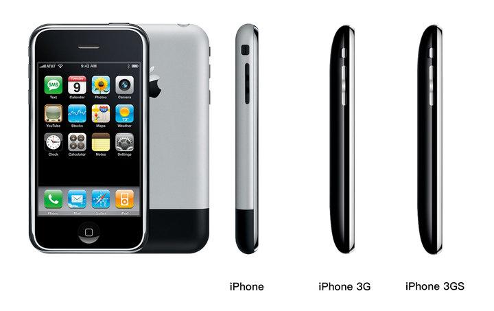 直角与圆弧,iPhone 的设计之变