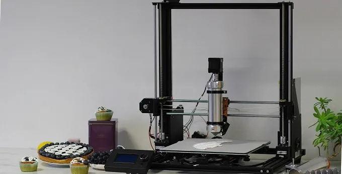 从厨房小白到烘焙大神,你只差一款3D食材打印机丨海外黑科技