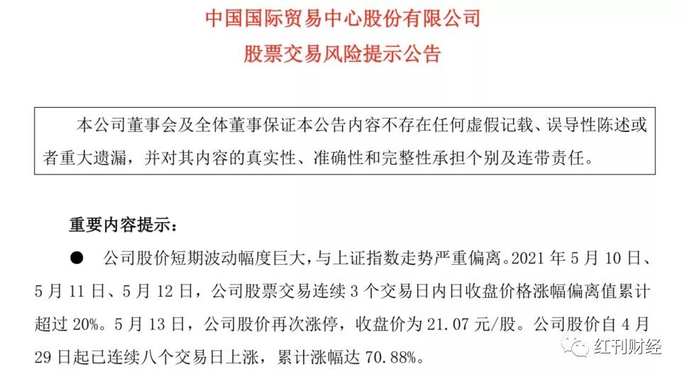股价一个月涨一倍的中国国贸背后,是写字楼空置率上升和租金下降