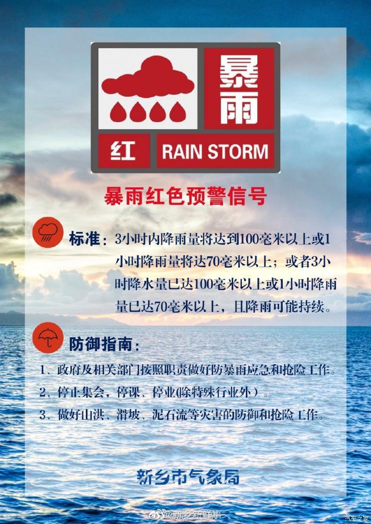 河南新乡牧野站2小时降水267.4毫米