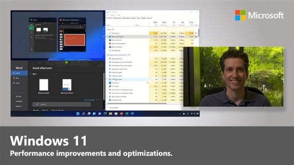 Windows 11为何让PC更加流畅?微软:系统底层改变了