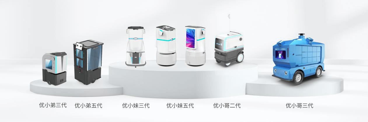 """服务机器人迎""""黄金期"""",优地科技如何率先完成服务机器人规模化商用落地"""