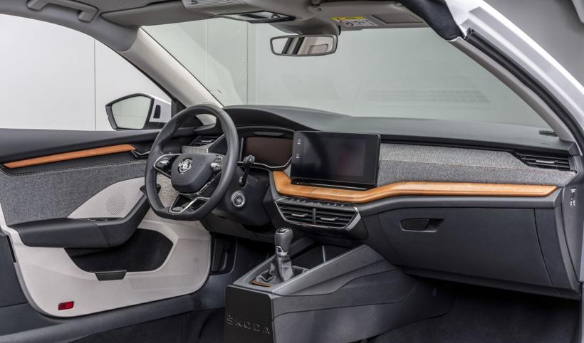 斯柯达在汽车内饰中采用生态材料 可用于车门和仪表盘